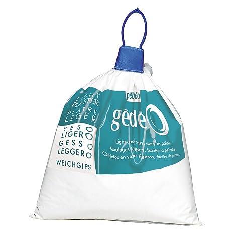 Gedeo - Yeso ligero, color blanco (1 kg)