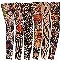Tattoo Sleeve, Mchoice Nylon Elastic Temporary Tattoo Sleeve Designs Body Arm Stockings Tatoo Cool