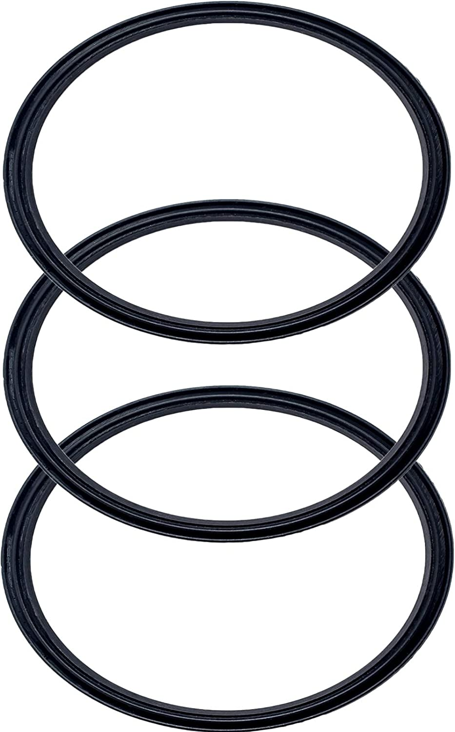 Pack of 3-30 oz Replacement Rubber Lid Ring, Gasket Seals, Lid for Insulated Stainless Steel Tumblers, Cups Vacuum Effect, fit for Brands - Yeti, Ozark Trail, Beast, Black by C&Berg Model 2020