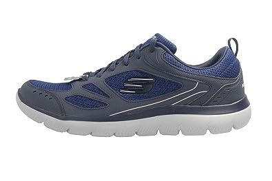 Skechers Sneakers Summits Blu Grigio 52812 NVY