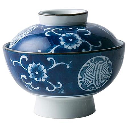 Sopa de cerámica Tallarines Tazón de pasta con tapa Ensalada de ...