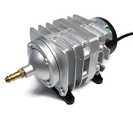 Hycy Bomba De Aire Eléctrica del Acuario del Compresor De Aire Electromágnetico 220V 25W 45L /