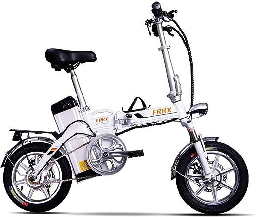 Y&XF Unisex Mini Bicicletas Eléctricas 14
