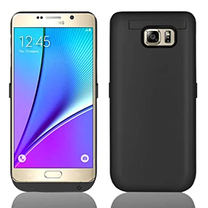Amazon.com: [Galaxy Note 5 Battery Case] 5200mAh batería ...