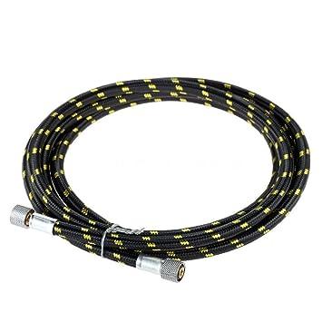 SODIAL (R) 180 cm Conector de goma Nylon aerógrafo manguera para aerógrafo compresor de aire conectar v5g3: Amazon.es: Bricolaje y herramientas
