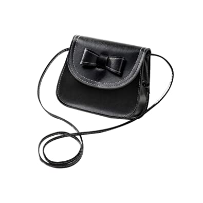 8ee3fa66ec Fashion Bow Knot Decoration Mini Soft PU Leather Single Strap Shoulder Bag  Crossbody Bag Small Flap Bag Mobile Phone Bag  Amazon.co.uk  Shoes   Bags