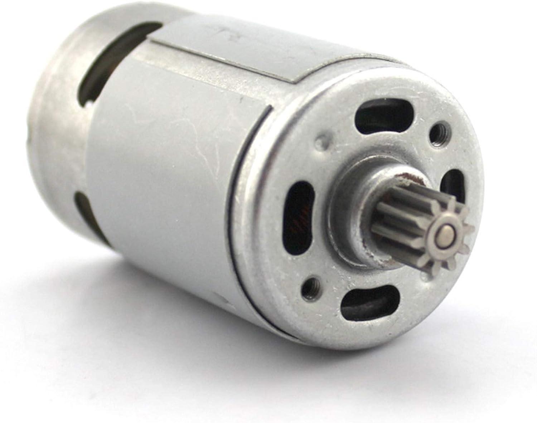 LCuiling-Motor de engranajes Motor Micro DC, Motor Modelo de Alta Velocidad, Motor 550 (Eje Estándar), Accesorios de Acero, Accesorios de Juguete DIY, Alto Voltaje ( Speed(RPM) : 24V 25000RPM )
