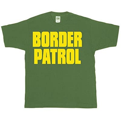 .com : Fox Outdoor Products Border Patrol Gold Imprint Two-Sided Imprinted T-Shirt : Sports & Outdoors