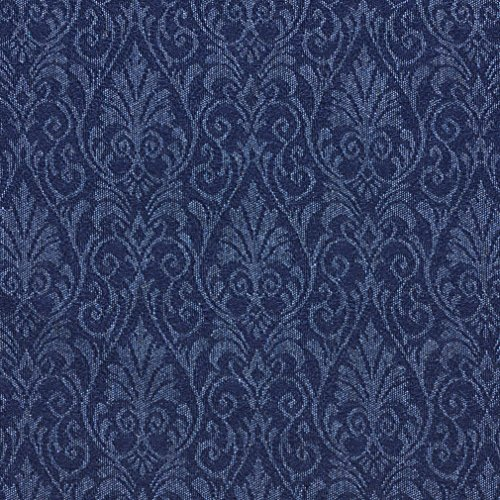 upholstery fabric blue - 3