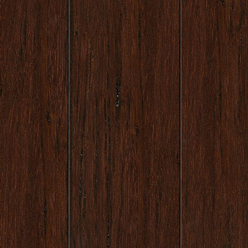 Woven Hazelnut 3/8 in. Thick x 2-3/8 in. Wide x 36 in. Length Solid Bamboo Flooring (28.5 sqft/case) ()