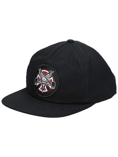 Independent Gorro Snapback Thrasher Pentagram Cross Negro (Default, Negro)