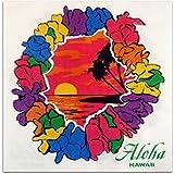 Hawaiian Lei Beverage Napkin Set of 20