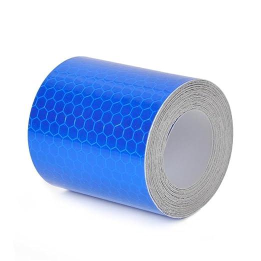 2 opinioni per Andux Nastro Adesivo Alta Visibilità Riflettente 5cm x 3m FGT-01 (blu)