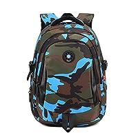 Onirii School backpack For Girls Boys Bookbags Outdoor Dayback Camo