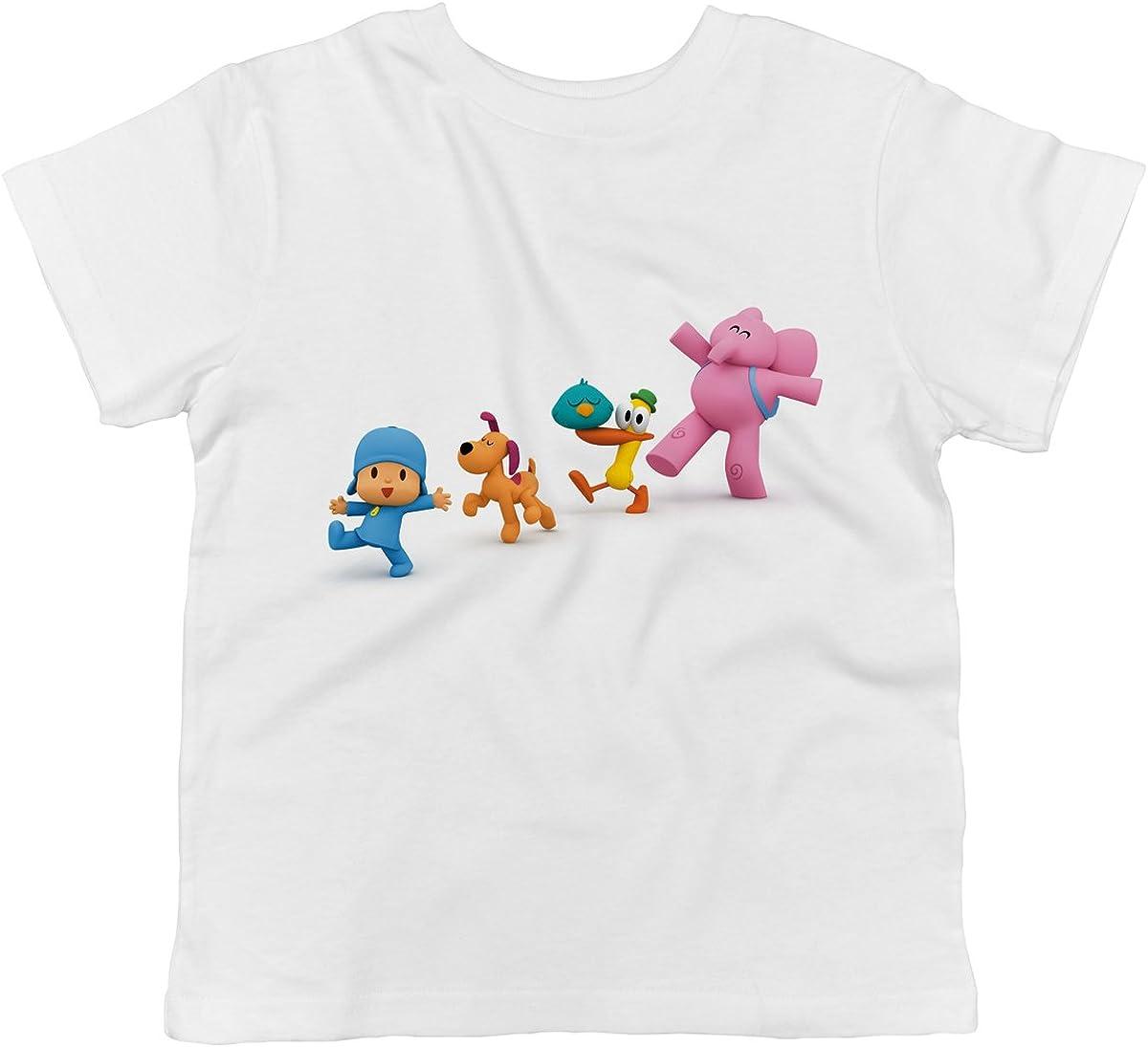 Pocoyo Pato Pocoyo Sleepy Bird and Elly Marching Toddler T-Shirt Loula