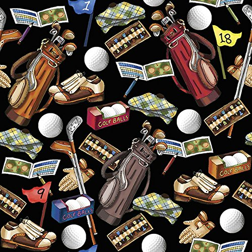 - Golfing Golf Unisex Gift Wrap Wrapping Paper - 15 Foot Roll Buttons Bags and Bows