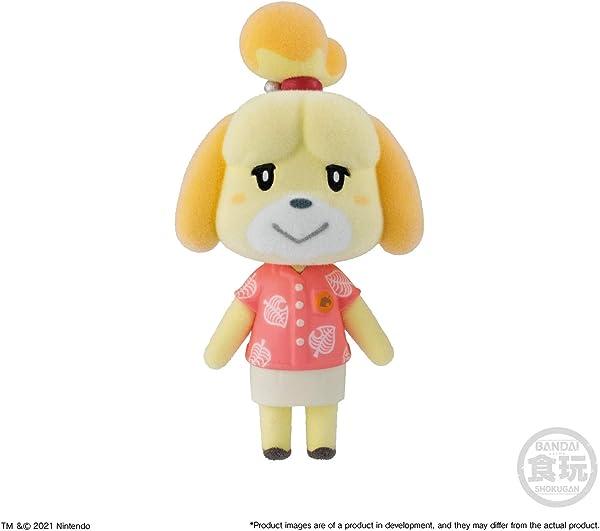 Bandai Shokugan – Animal Crossing: New Horizons Villager Flocked Doll Collection