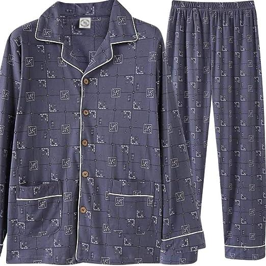 Pijamas de hombre Conjunto de pijama de los hombres pijamas Home ...
