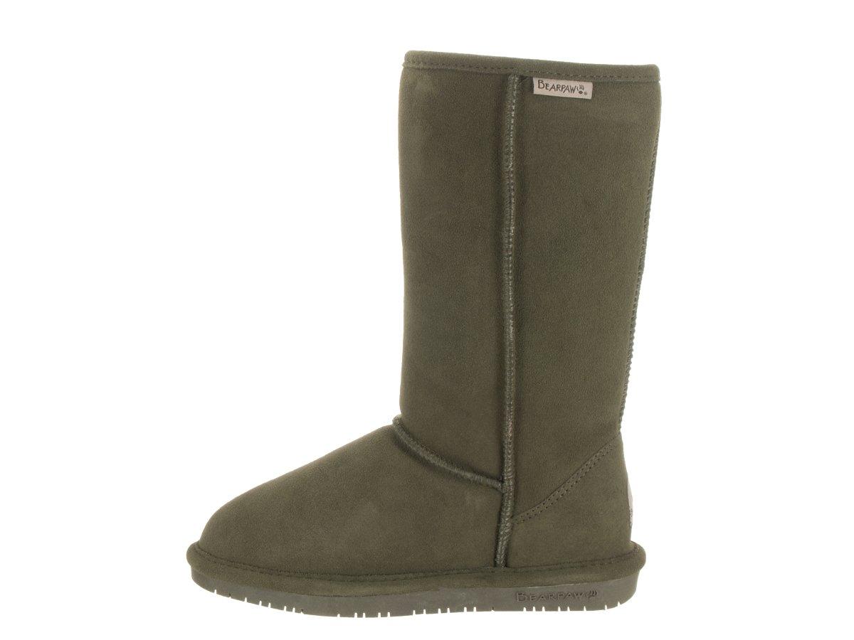 BEARPAW Women's Emma Tall Mid Calf Boot B01E4U1KP0 9 B(M) US|Olive