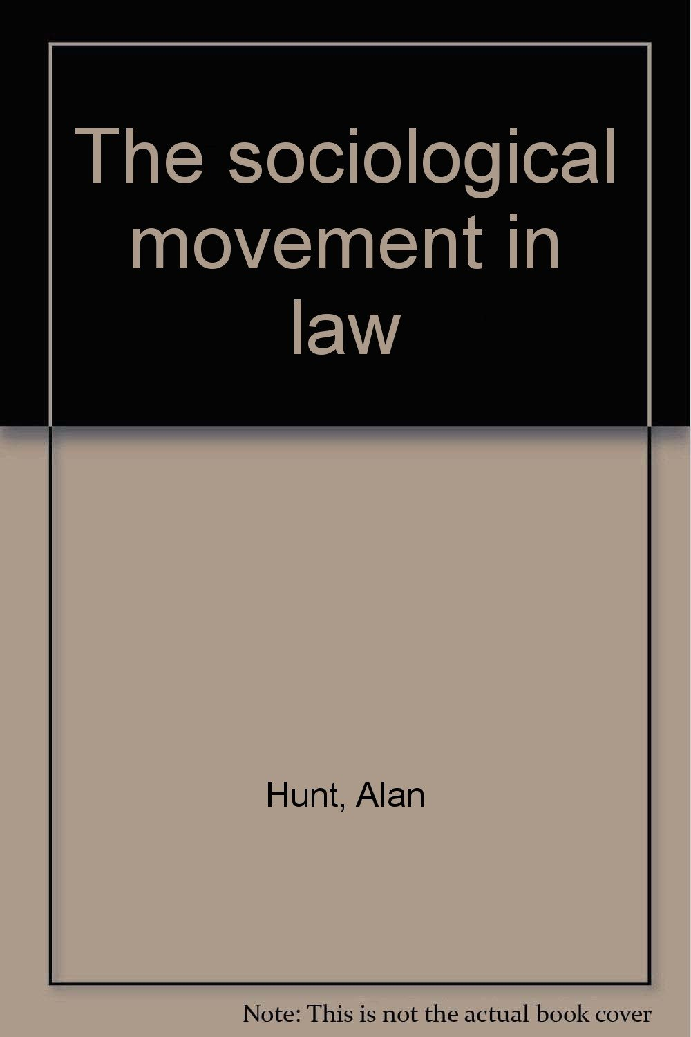 The Sociological Movement in Law