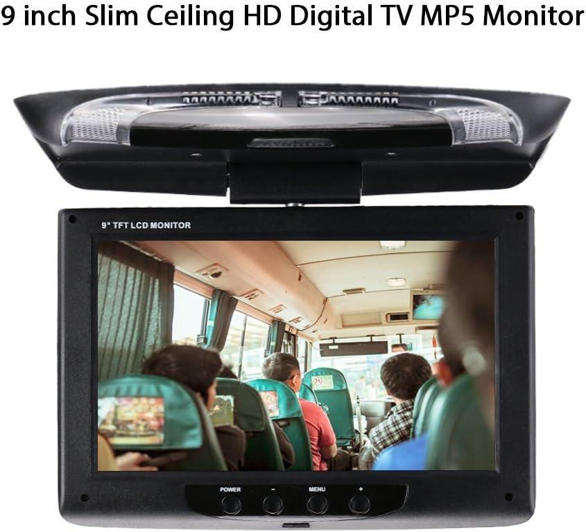 Auto Stereo Player Mp5 Mit 9 Zoll Bildschirm Slim Decke Hd Digital Tv Mp5 Monitor Flip Dachmonitor Monitor Audio Auto