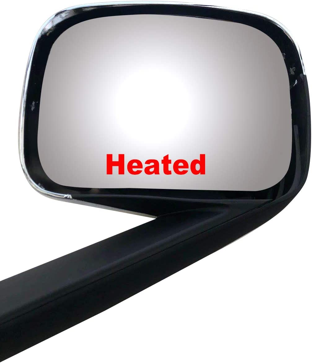 Brand New Replacement Chrome Hood Mirror Driver Left Side Fit Freightliner Cascadia 2018-onward