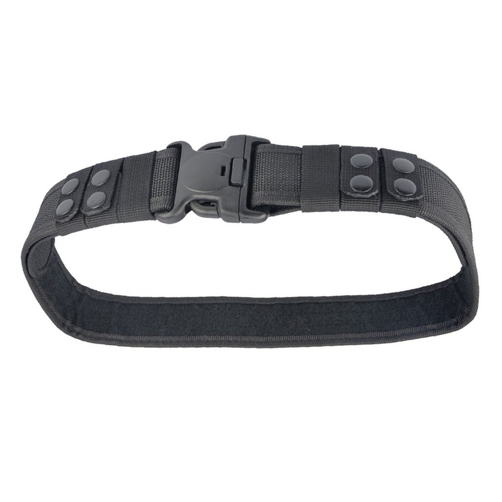 Pesada Guardia De Seguridad Deber Cintur/ón De Herramientas De Param/édicos De La Polic/ía Del Ej/ército Negro