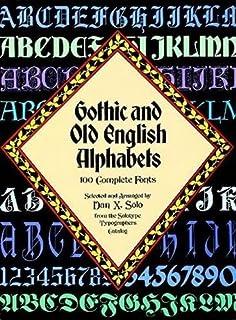 Script and Cursive Alphabets: 100 Complete Fonts (Lettering