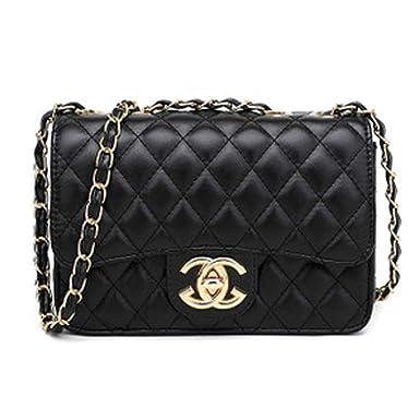 848e413957c84 Handtaschen Messenger Bag Lingge Kette Paket Schulter Mode Mini Tasche