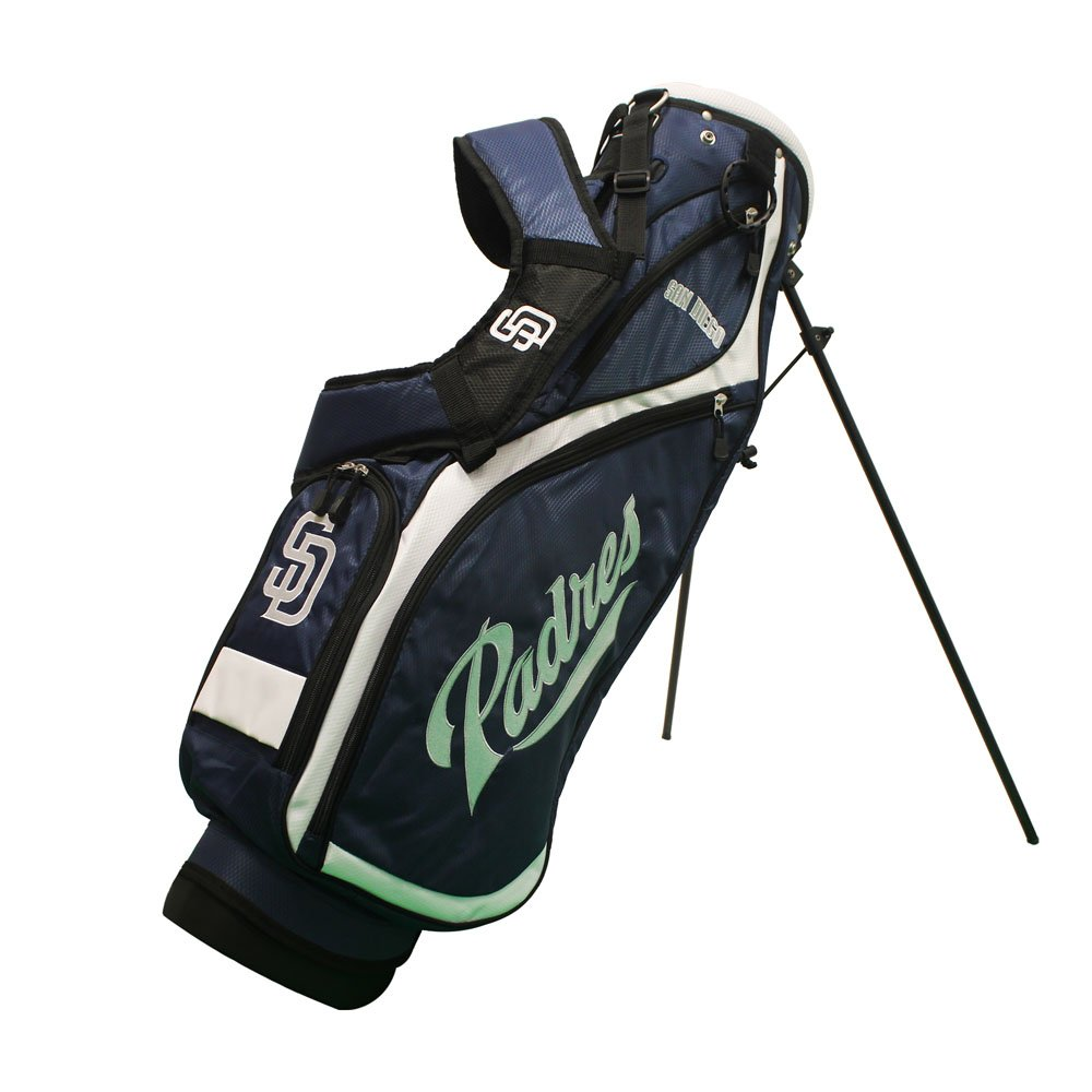 Team Golf 97227 San Diego Padres MLB Nassau Golf Stand Bag
