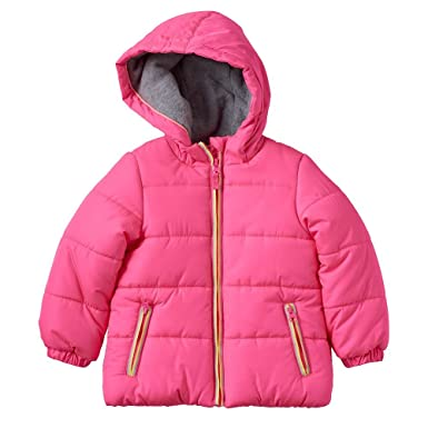 0cc283839 Amazon.com  Carter s Toddler Girls Solid Puffer Jacket (2T