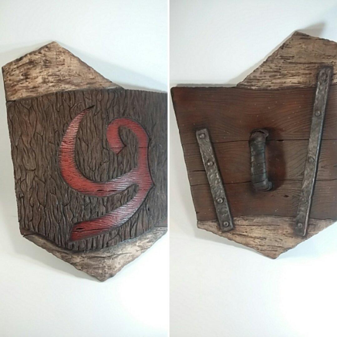 Legend of Zelda Themed Replica Deku Shield