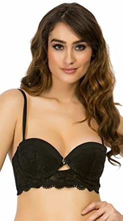 b71b8f6d8a2 Amazon.com  Yandy Rene Rofe The Giselle Black Multiway Bra