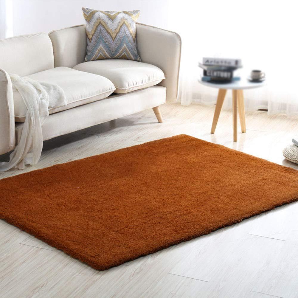 カーペット、リビングルームベッドルームコーヒーテーブルカーペット、洗える、スチレンブタジエンゴム無し、におい無し   B07KCSQY55