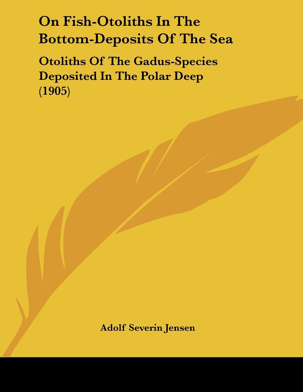Download On Fish-Otoliths In The Bottom-Deposits Of The Sea: Otoliths Of The Gadus-Species Deposited In The Polar Deep (1905) pdf