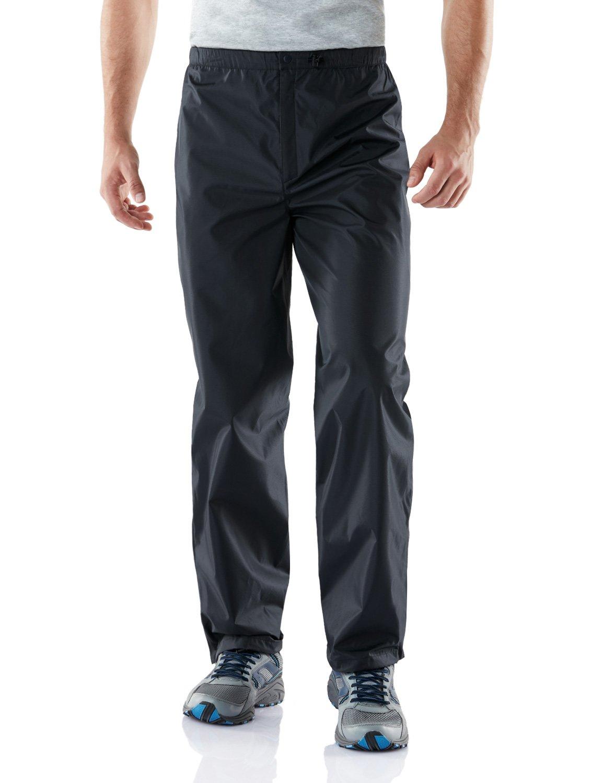 Tesla TM-MEB02-DNV_Medium Men's Outdoor Rain Pants Watertight Water Proof Gear Rain Defender Trousers MEB02