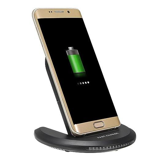 Tutoy Qi Wireless Led Luz 10W Plegable Cargador Escritorio ...