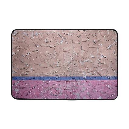 Amazon Com Wall Texture Paint Surface Unevenness Doormat