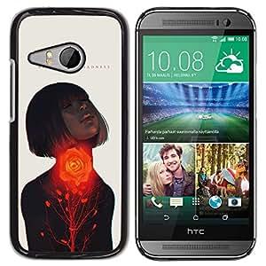 iKiki Tech / Estuche rígido - Passion Woman Quote Love Spring - HTC ONE MINI 2 / M8 MINI