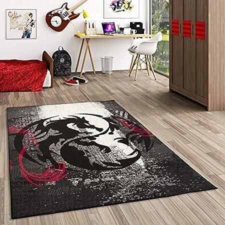 /mouchet/é Extreme/® Paillasson Plusieurs tailles disponibles/ 60 x 150cm /Rouge//Noir/