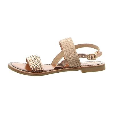 Zapatos dorados Inuovo para mujer 59Pyd2Ns