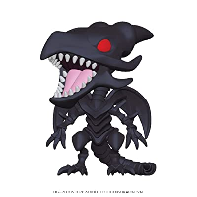 Funko Pop! Animation: Yu-Gi-Oh - Red-Eyes Black Dragon: Toys & Games