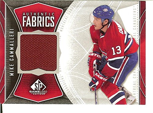 2009-10 Game Used Authentic Fabrics #AFMC Mike Cammalleri MEM Canadiens from Game Used