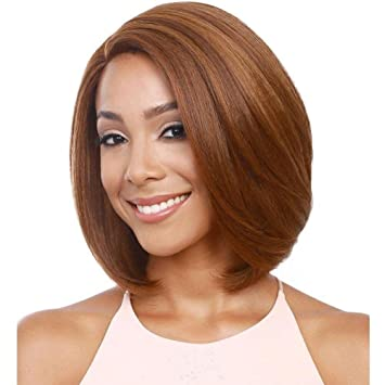 JF2063 - 30cm Bob Wigs Short Straight Wigs for Women Party Cosplay Wigs , gold