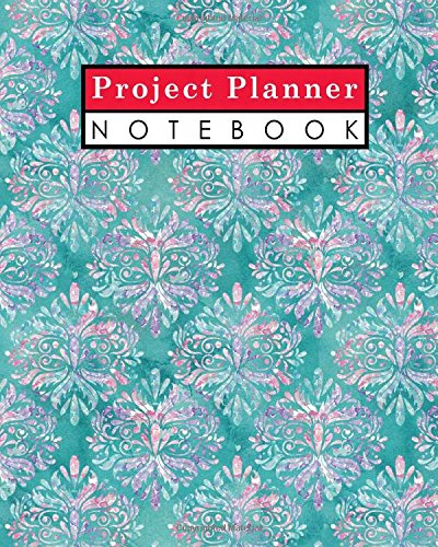 Project Planner Notebook: Project Management Action Log, Project Management Planner Notebook, Project Planner Note Pad, Organize Notes, To Do, Ideas, Follow Up, Hydrangea Flower Cover (Volume 38) - Project Log