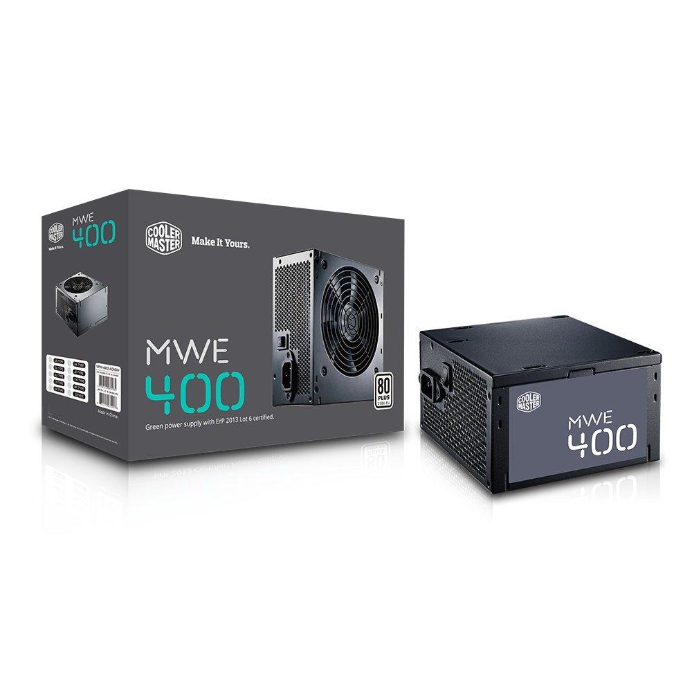 Cooler Master MPW-4002-ACABW-EB Alimentatore Atx 400W, Nero Coolermaster