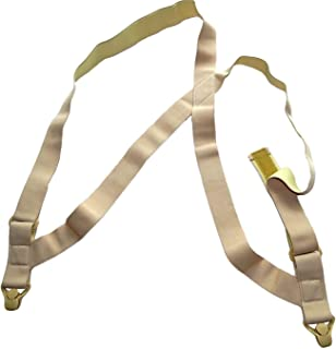 product image for Holdup Hidden Maternity Undergarment Hip-clip Style Suspenders with beige Gripper Clasps
