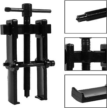 Bearing Separator Yosooo 5 Size Two Jaw Twin Legs Bearing Gear Puller Remover Hand Tool Removal Kit Splitter Tool for Wheel Hub 4 Gear Pinion Bearing Puller