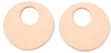 "12pk-Leather Teardrop Mini Die Cut 5-6 oz Veg Tan/""Artisan/'s Choice/""DIY Earrings"