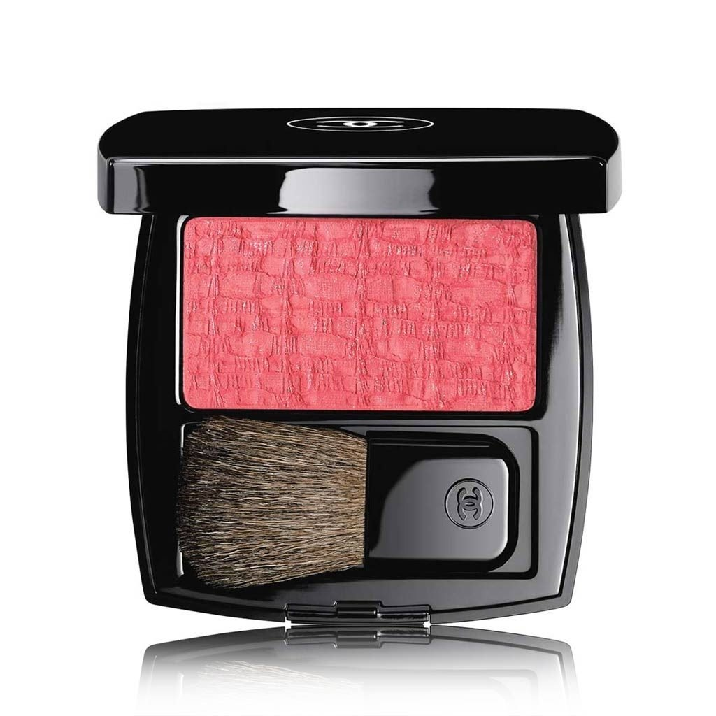 CHANEL LES TISSAGES DE CHANEL BLUSH DUO TWEED EFFECT # 90 - TWEED PINK PARADISE